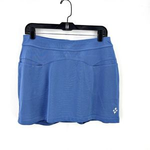 JoFit Blue Tennis Skirt Skort Undershorts pocket